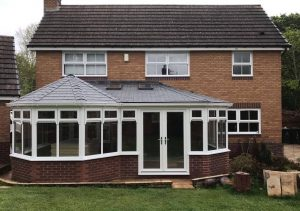 Tiled roof conservatories