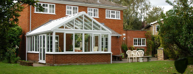 Gable conservatory Leamington Spa Conservatories