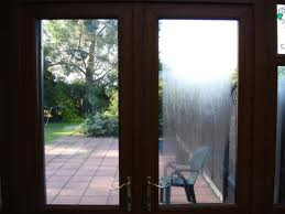 Conservatory repairs door with condensation